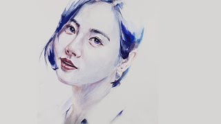 Portrait Painting (water color…