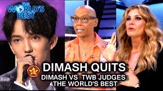 Dimash Quits | Dimash vs Judges Whose Side Are You? Do You Agree or Disagree? | The World's Best