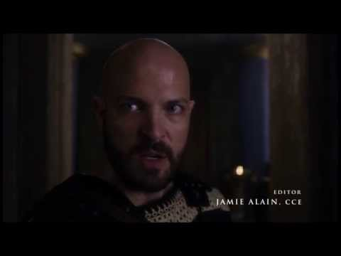 Scottish Actor Graham Shiels as King Aegeus in Season One of Olympus on the Syfy Network