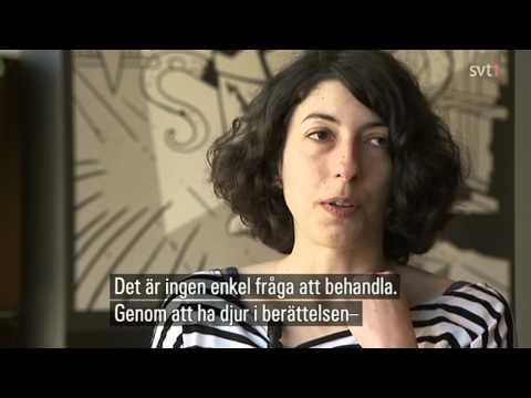 Nancy Peña på kulturnyheterna 25/4 2013