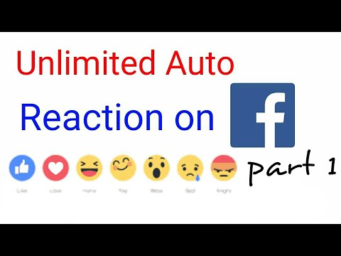 get unlimited react on facebook image in android [Hindi]