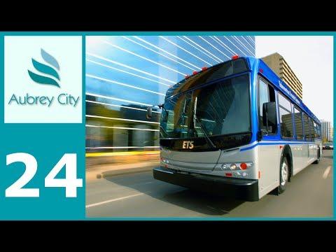[Ep.24] Cities Skylines - Aubrey City : Bus Network