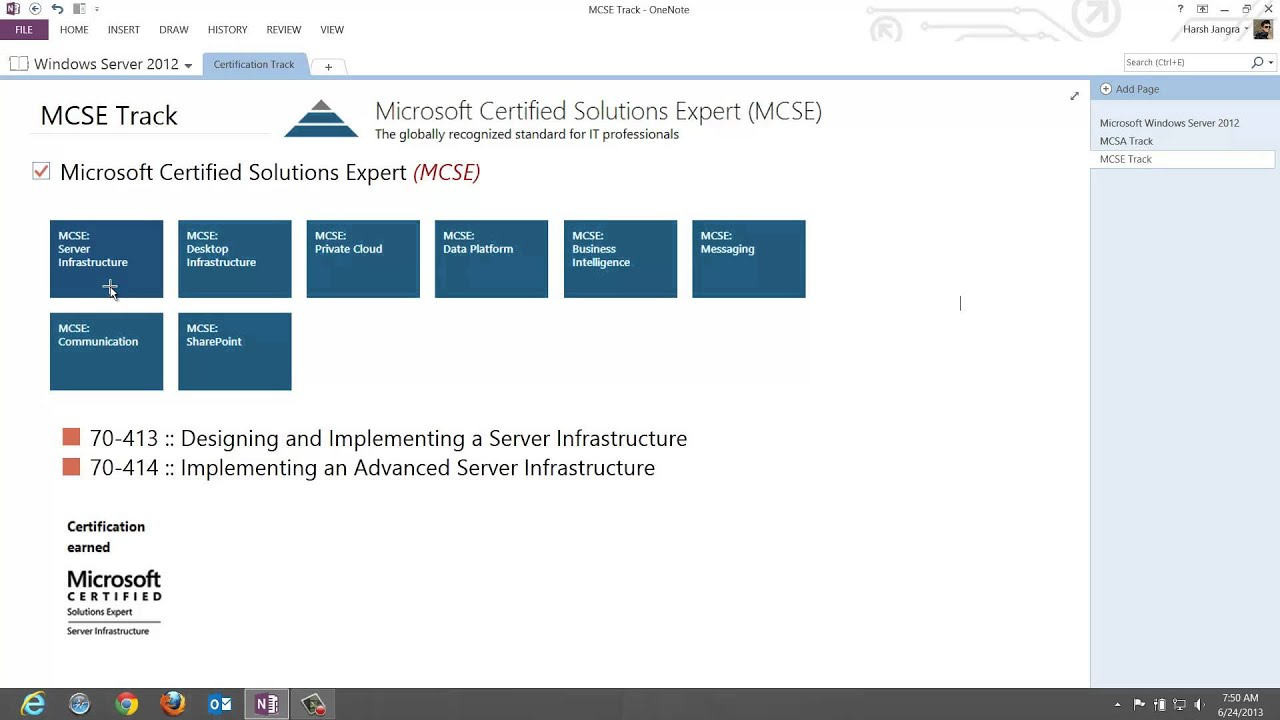 Intro To Windows Server 2012 Certification Track Video 1 Youtube