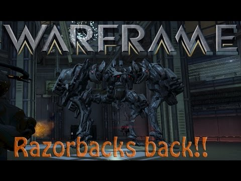 Warframe - Razorback Returns