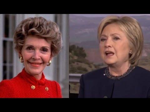 Hillary Clinton Praises Nancy Reagan for AIDS Response ...