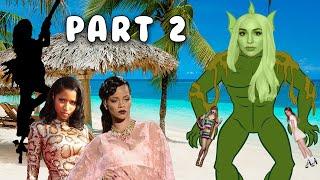 Pop Girls Go To The Beach (Part 2) w/ Lana Del Rey, Nicki Minaj, Rihanna & Taylor Swift