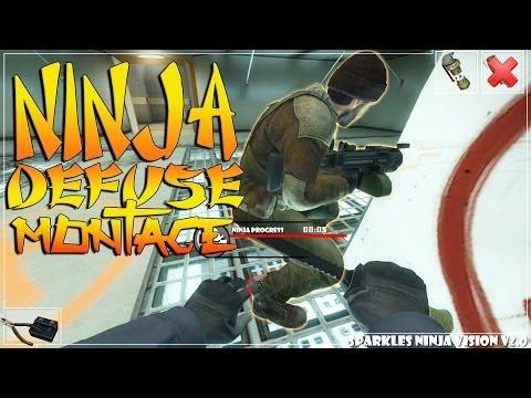 CS:GO - Sparkles Ninja Defuse Montage #2!