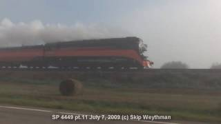 (HD) Steam Train SP 4449 thru FOG -pt 11