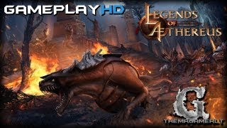 Legends of Aethereus Gameplay PC HD