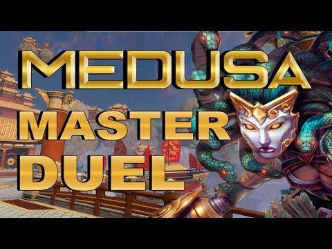 SMITE! Medusa, La gente se ralla mucho ultimamente! Master Duel S4 #130