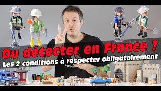 Où peut-on utiliser un détecteur de métaux en France ?