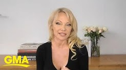 Pamela Anderson talks new venture and relationship with Julian Assange l GMA