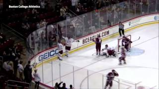 Boston College scores with Flying V