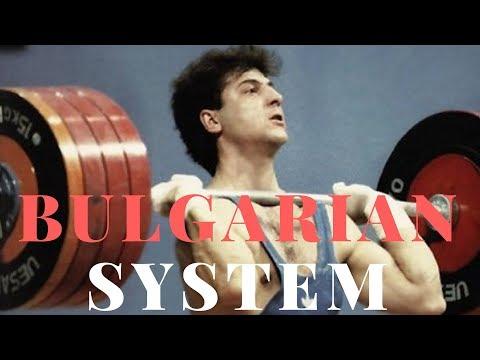 You dont train Bulgarian, bro.