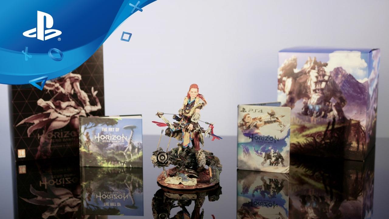 Horizon Zero Dawn Collectors Edition Unboxing Ps4 Deutsch Sony Playstation 4 Collector Youtube
