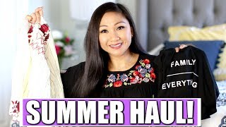 SUMMER HAUL + TRY ON! | Vici Collection