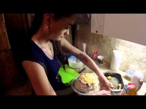 Творожный торт с ананасом