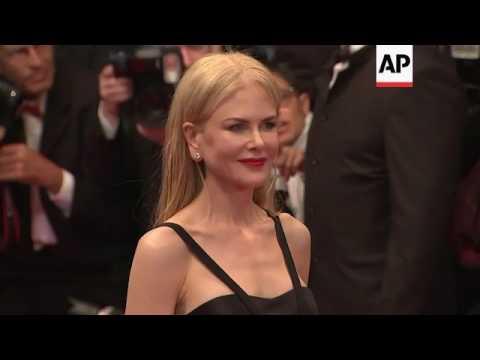 Nicole Kidman gets emotional on Cannes red carpet after 'The Killing of a Sacred Deer' premiere