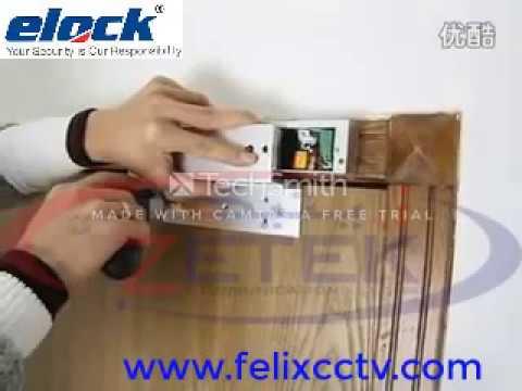 Electro Magnetic lock installation,