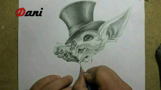 Pencil drawing : Gentleman Gnar