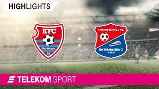 KFC Uerdingen – SpVgg Unterhaching | Spieltag 1, 18/19 | Telekom Sport
