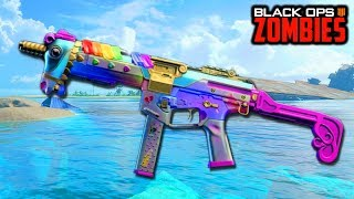 UNICORN CAMO IN ZOMBIES? (BLACK OPS 4 DARK MATTER/BLACKOUT CHARACTERS GRIND)