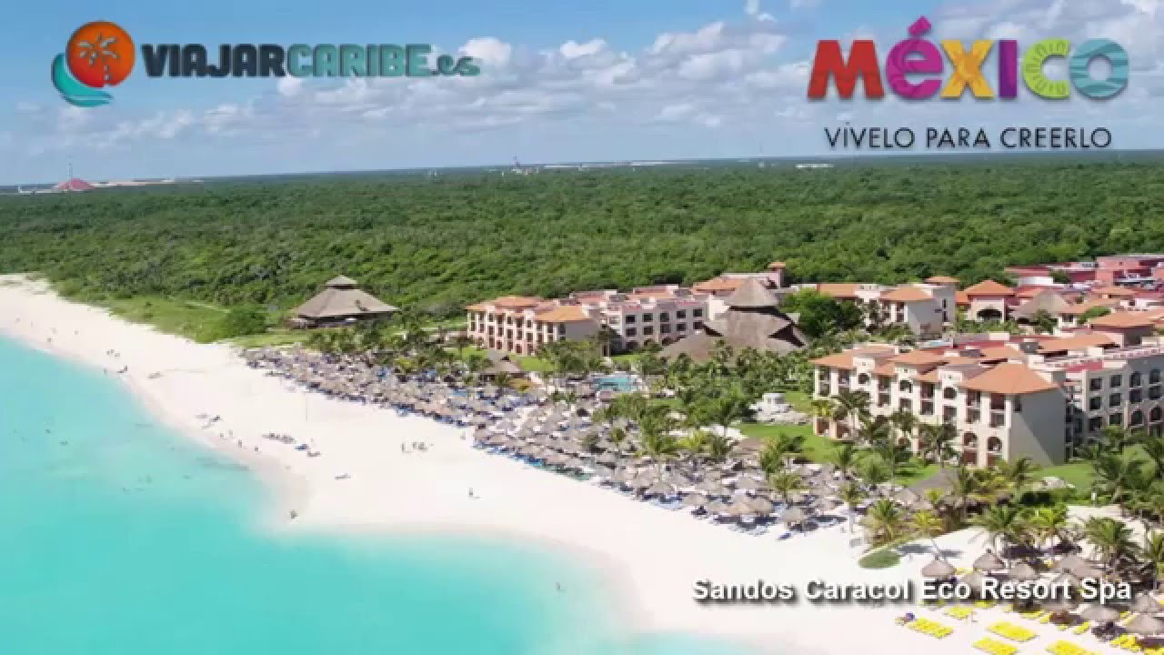 Sandos Caracol Eco Resort And Spa Cancun You Tube