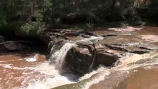 O Kun De Kun Falls (Upper Falls), MI.