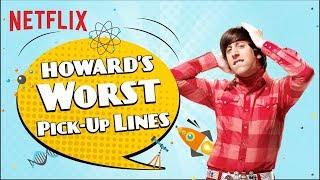 Howard's Worst Pickup Lines   The Big Bang Theory   Netflix India