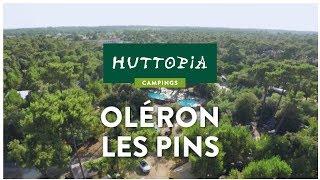 Visite virtuelle du camping Huttopia Oléron les Pins, sur l'île d'Oléron