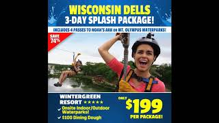 CHEAP Vacation Package Wisconsin Dells