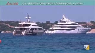 La7 · L'Aria d'estate - Con la crisi cresce l'invidia verso i ricchi?