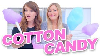 How to make Cotton Candy!
