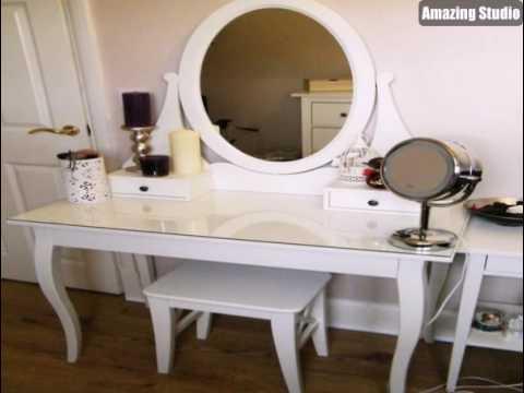 Make Up Tisch Weisse Mobel Ikea Youtube