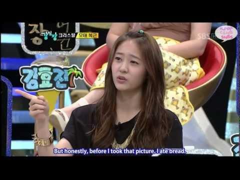 110726 SBS' Strong Heart - Krystal Cuts (ENG | HD)