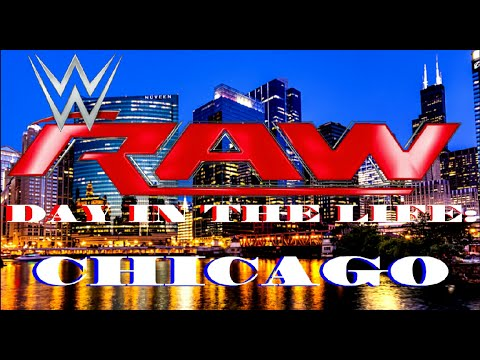 Day in the life wwe monday night raw in chicago youtube - Monday night raw images ...