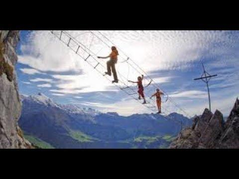 Klettersteig Zittergrat : Klettersteig zittergrat engelberg youtube