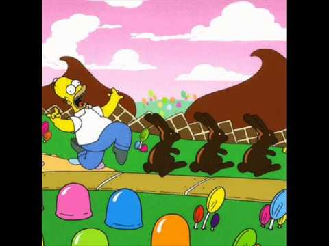 The Simpsons Land Of Chocolate All Song Youtube