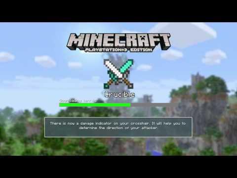 "Minecraft ps3 custom skin trolling #4""the secret cheat code"""