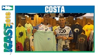 Costa Del Mar Apparel & Accessories with Randy Howell & Andy Morgan | ICAST 2016