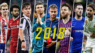 Best Football Skills mix 2018 ● Messi ● Neymar ● Ronaldo ● Salah ● Dybala ● Mbappé & More HD #1