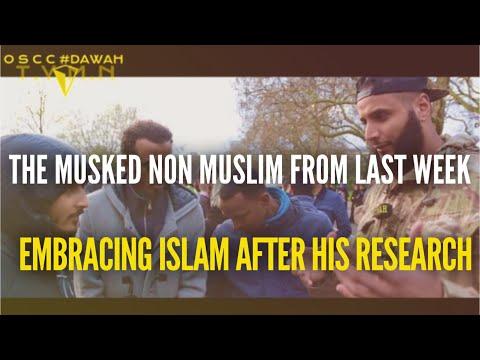 PEOPLE STILL EMBRACING ISLAM @ SPEAKERS CORNER #DAWAH