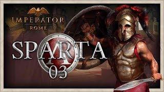 SPARTAN INVASION OF ASIA MINOR! | Imperator Rome Sparta Campaign Gameplay #3