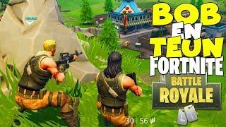 BOB EN TEUN GAAN HET PROBEREN! (Fortnite Battle Royale Roleplay #1)