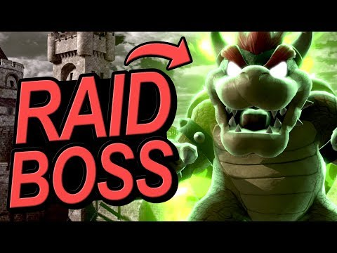 I Challenged People To Beat My Raid Boss Bowser