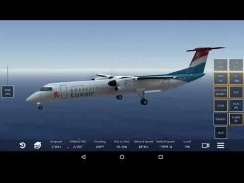 Infinite flight |(Caribbean Tour)| St Martin to St kitts-Dash-8 q400