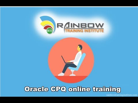Oracle CPQ (Big Machines) Online Training | Oracle Cloud CPQ Demo