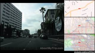 North Hayworth Avenue (Los Angeles, CA) to North Kings Road (Hollywood Hills)