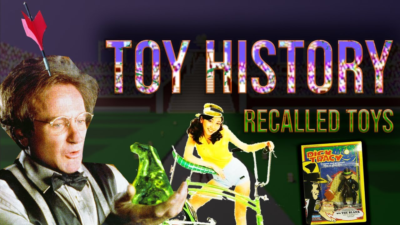 Banned Toys! Disney Flubber, Jarts, Dick Tracy, Star Wars, CSI, Swing Bike, ... TOY HISTORY #7