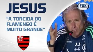 """""""A TORCIDA DO FLAMENGO É MUITO GRANDE"""": Jorge Jesus comenta atitude do Athletico Paranaense"""